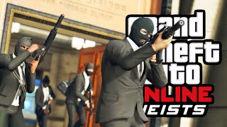 THE ULTIMATE BANK HEIST! #1 (GTA 5 Heist)