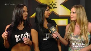NXT's Iconic Duo sends a message to vacationing Asuka