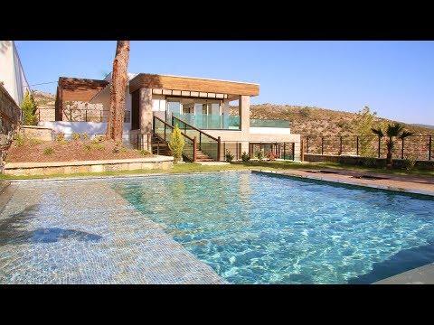 Bodrum Merkez de Satılık Müstakil Havuzlu Bahçeli Lüx Villa