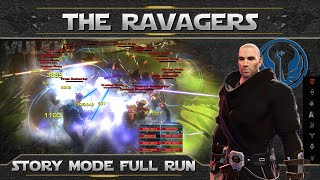 SWTOR OPS ► THE RAVAGERS Full Run 8 Man Story Mode (Sentinel PoV)