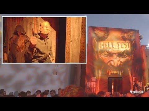 Xxx Mp4 4K Hell Fest Haunted Maze Fright Fest 2018 Six Flags Magic Mountain 3gp Sex