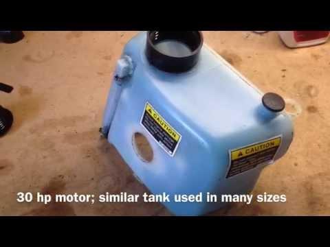 Mercury Outboard Low Oil Alarm Switch Repair