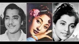 Rula Kar Chal Diye Ek Din Hemant Kumar Badshah (1954) Shankar Jaikishan / Shailendra