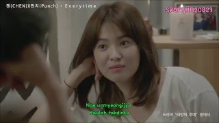 [INDO SUB] Chen EXO & Punch -  Everytime [Descendants Of The Sun OST]