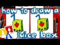 How To Draw A Funny Juice Box