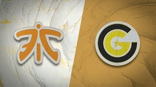 FNC vs CG | Worlds Group Stage Day 2 | Fnatic vs Clutch Gaming (2019)