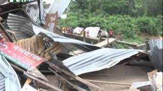 More than 50 houses eradicated in Chittagong I News & Current Affairs