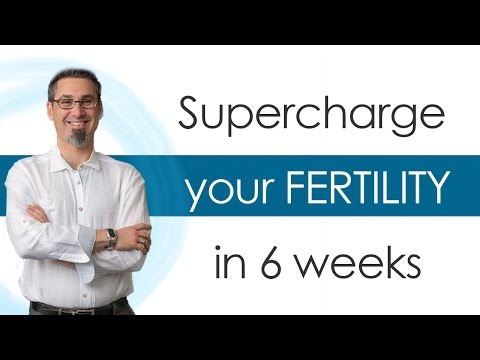 Supercharge Your Fertility in 6 Weeks online course