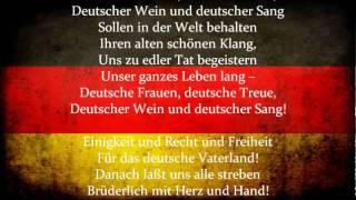 Das Lied der Deutschen (The Song of the Germans)