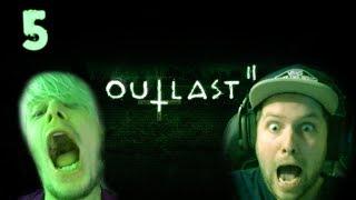 MIJN BFF IS BANG VOOR DIT SPEL! (Outlast 2)