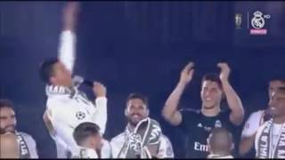 Ronaldo song and dance ( Hasi Hasi ) HALA Madrid - Cristiano Ronaldo CR7 Uefa champions league 2016