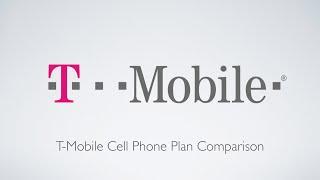T-Mobile Cell Phone Plan Comparison!