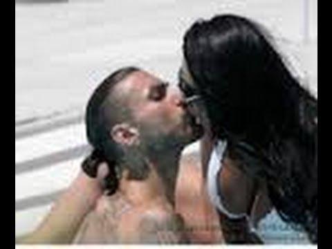Marika Fruscio Hot Kiss with Boyfriend Genny Fenny
