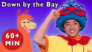 Down by the Bay and More | Jack Meets Funny Animals | Baby Songs from Mother Goose Club!