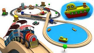 Train Cartoon - Trains for kids - Cartoon For Children - Cars For Kids - Toy Factory Cartoon