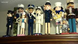 93-year-old collects hundreds of nutcrackers