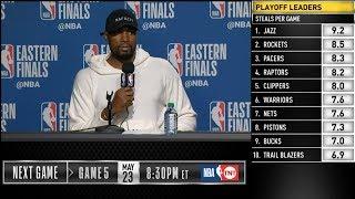 Serge Ibaka postgame reaction | Raptors vs Bucks Game 4 | 2019 NBA Playoffs