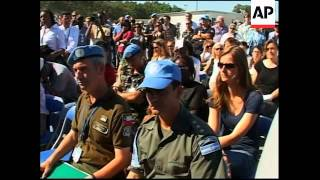 Minustah chief at ceremony for UN staff killed in quake
