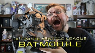 Ultimate Justice League Batmobile   UNBOXING AND SPEED BUILD