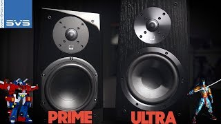Speaker Shootout | SVS Ultra vs. SVS Prime Bookshelf