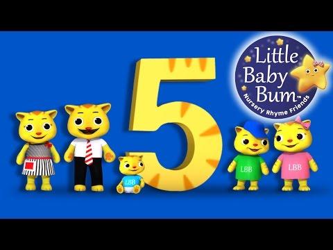 Numbers Song 5, 10, 15, 20   Nursery Rhymes   By LittleBabyBum!
