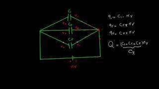 کلاس درس - الکتریسیته ساکن ۱۲ - خازنهای موازی