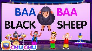 Baa Baa Black Sheep - Nursery Rhymes Karaoke Songs For Children   ChuChu TV Rock