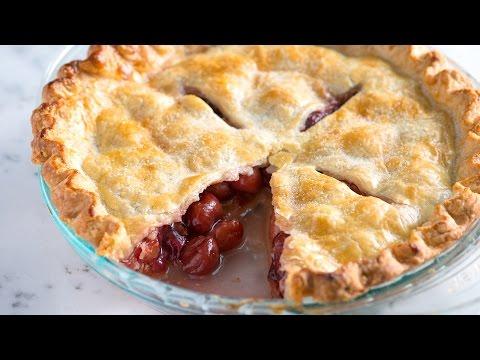 Easy Cherry Pie Recipe - How to Make Homemade Cherry Pie