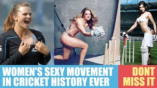 Women's Hot Movement in Cricket History
