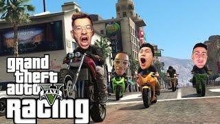 TEAM ALBOE RACING #3   GTA 5 Funny Moments (GTA 5 Online Races)