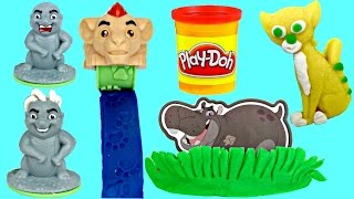 Disney Jr. LION GUARD Kion & Friends Play-doh Playset, Mold, Bunga Hair Extruder Stamper TUYC