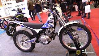2016 Sherco 125 XY - Walkaround - 2015 Salon de la Moto Paris