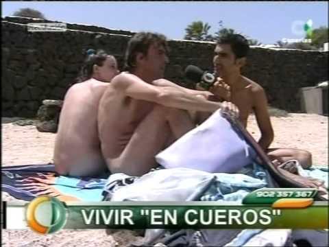 Jesús Cosano en Canarias Directo Vtr Nudismo naturismo y pasotismo.