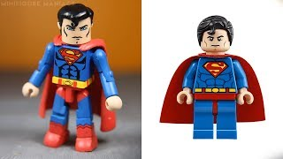LEGO DC SUPERHEROES & VILLAINS - Minifigures VS Minimates