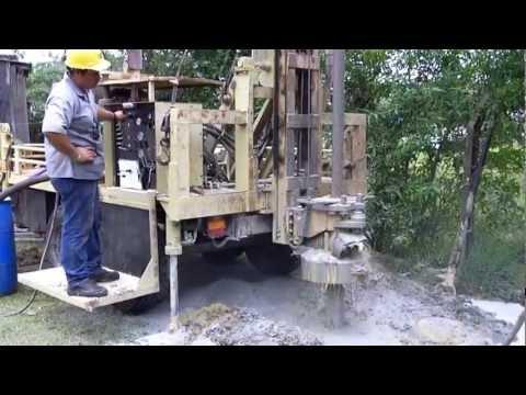 Perforadora de Pozos Fabricación Propia