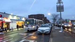 MTA Bus: South Jamaica bound RTS-06 8913 Q60 at 67 Rd/Queens Blvd