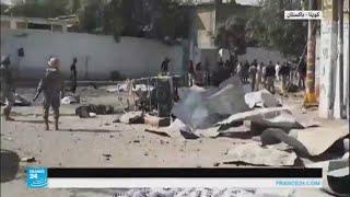 سيارة مفخخة تنفجر أمام مقر المفتش العام بكويتا الباكستانية