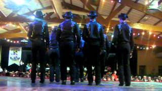 """The Fearless Gang Of St Clar""- Line Dance Show à Mirande 2012"