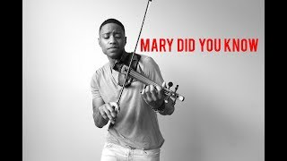 Mary Did You Know cover