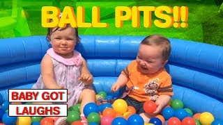 More Toddlers vs Ball Pits Part 2  Hilarious Baby And Toddler Compilation