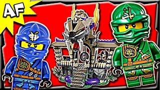 Lego Ninjago ENTER The SERPENT 70749 Anacondrai Jungle Stop Motion Build Review