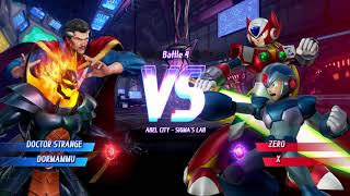 MARVEL VS. CAPCOM: INFINITE PS4 Arcade Mode Team Mystic Arts Doctor Strange / Dormammu