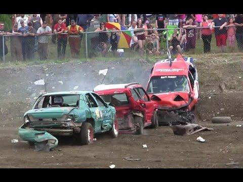 Xxx Mp4 2015 Gander Demolition Derby Small Car Heat 3gp Sex
