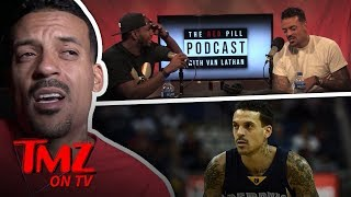 Matt Barnes Says He Smoked Weed Before NBA Games | TMZ TV