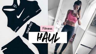 Fitness Clothing Haul & Try On I Dizzybrunette3