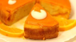 Orange Cake - How to make Orange Cake with Orange Glaze