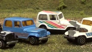 Vintage Yatming Toy Car Collection