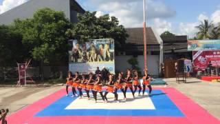 Funky Girls Cheerleader Vidatra - Parade Ekstrakulikuler 2016