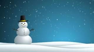 Snowman - HD Background Loop