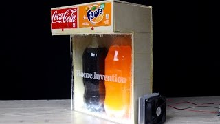 How to Make Soda Fountain with Cooling System -DIY